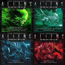 Complete Aliens Omnibus Volume 1 to 4 Mass Market Paperback 4 Books Collection