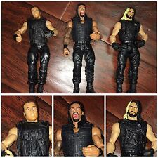WWE Mattel The Shield Figure Lot, Rollins, Ambrose, Reigns Action Figures | E