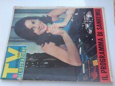 TV sorrisi e canzoni illus_n.4 del 1965_GRAZIA MARIA SPINA_SEAN CONNERY_PITNEY