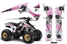 Suzuki LTR 230 AMR Racing Graphic Kit Wrap Quad Decals ATV All Years LUNA PINK