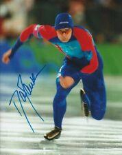 DAN JANSEN SIGNED USA SPEED SKATING OLYMPICS 8x10 PHOTO #2 Autograph EXACT PROOF