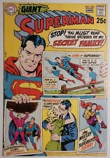 SUPERMAN #222 (DC 1970) FN- Condition. 80 Page Giant G-66!