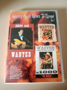 Country Music Comes To Europe Vol 1 - Genuine Region 4 DVD Johnny Cash