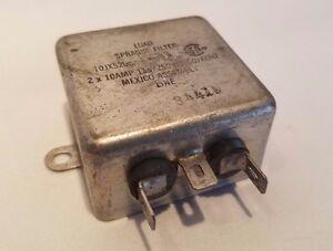 Charge Sprague Filtre 10JX5205A 2 x 10 Amp 115/250VAC