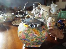 Very Rare Royal Winton Chintz Somerset Biscuit Jar No Damage