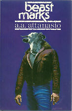Beastmarks by A. A. Attanasio (1984, Hardcover) First Edition Ziesing