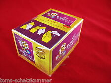 PANINI EURO 2012 1 BOX = 100 cartocci = 500 Sticker em 12 Polonia Ucraina Display