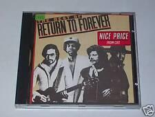 CD - RETURN TO FOREVER - THE BEST OF... - Cbs 1980