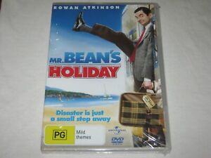 Mr Bean's Holiday - Rowan Atkinson - Brand New & Sealed - Region 4 - DVD