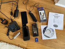 Olympus DS-7000 Grabadora Digital De Voz Y Sus Accesorios