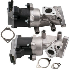 2x Front AGR EGR Valve for Land Rover Discovery MK III 2004-2009 SUV 2.7 TD 4x4