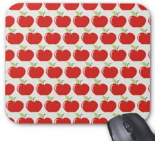 Apple Mousepad - Red Apples Pattern - Mouse Pad
