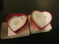AVON Open Your Heart Necklace / earrings Gift Mothers day (FREE SHIP