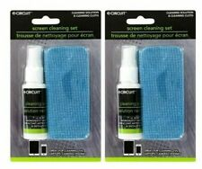 Screen Cleaner Kit w Soft Fiber Cloth & Cleaning Spray for Smartphone Laptop TV