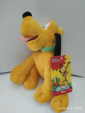 DISNEY MICKEY MOUSE CLUBHOUSE PLUTO 9 INCHES BEANS PLUSH W/HANDTAG  MUST L@@K