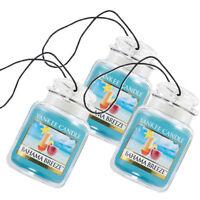 Yankee Candle Car Jar Ultimate Odor Neutralizing Air Freshener Bahama Breeze 3PK
