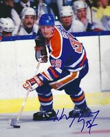 Wayne Gretzky Autographed Signed 8x10 Photo ( Oilers HOF ) REPRINT