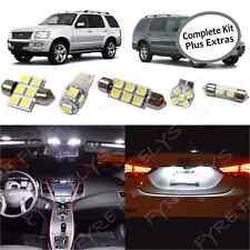 15x White LED lights interior package kit for 2002-2010 Ford Explorer FX1W