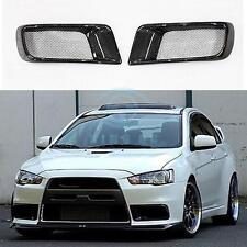 Carbon Fiber Kit For Mitsubishi Evolution EVO10 X Ralliart Front Bumper Air Duct