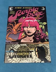 Scorpio Rose First Issue Eclipse Comics 1983 Ft:Doctor Orient