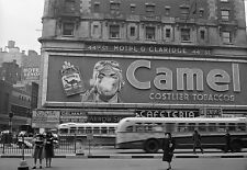 Billboard Camel cigarettes 50s ad NY Poster Print