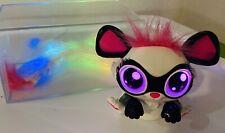 "Mattel Lil' Gleemerz Glowzer White Interactive 5"" Furry Pet Talks Light Up Tail"