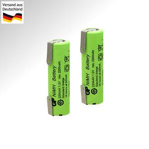 Ersatz Akku 2.4V NiMH Accu für Braun Series Rasierer 8590 8595 8995 Accu Battery