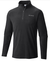NEW Columbia Men's Klamath Range II Half Zip Fleece Light Weight