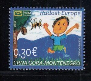 MONTENEGRO Joy of Europe 2017 MNH stamp