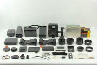 【 Amazing Set!! N MINT- 】 Mamiya Universal Press + Sekor 100mm 127mm Lens JAPAN