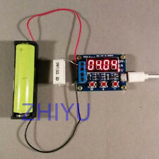 1.5v-12v Battery Capacity Meter load discharge Tester 18650 lithium lead-ADSD