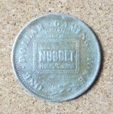 John Ascuaga's Nugget Casino Sparks Neveda $1 Dollar Gaming Token Coin (Pg1738)