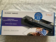 VuPoint Magic Wand Portable Handheld Scanner & Auto-Feed Dock - New Sealed