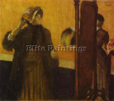 EDGAR DEGAS 44 ARTIST PAINTING REPRODUCTION HANDMADE OIL CANVAS REPRO ART DECO