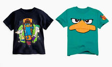 Phineas & Ferb Phineas and Ferb Perry Platypus Disney Boy's Size XL 14 T-shirt