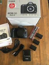 Canon EOS 5D Mark III 22.3MP DSLR Digital Camera Body Only - Batteries Strap
