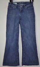 Banana Republic Urban Wide Leg Women's Jeans Blue Tag Size 0 28 Waist X 29 L