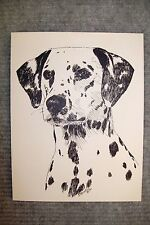 Dalmation Pen and Ink Stationary Cards, Note Cards, Greeting Cards. 10 pack.