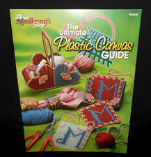 New Needlecraft Shop ULTIMATE PLASTIC CANVAS GUIDE Instructional Leaflet Booklet