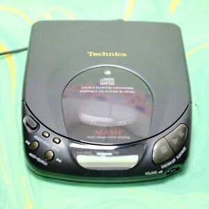 Technics Portable CD Player SL-XP350 Full Working Order With Mains Power Supply