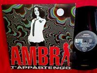 AMBRA T'appartengo LP ITALY 1994  MINT- Hip Hop  Italodance