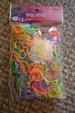 Loom Bands Pack of 600 with 24 S Clips and Loom Tool Home Learning School