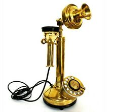 Candlestick Phone Vintage Antique Rotary Dial Telephone Old London Decor Home