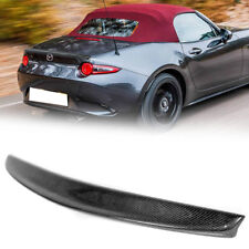 Mazda 16-ON MX-5 / ND / Convertible/Roadster / SE D-Type Carbon Trunk Spoiler