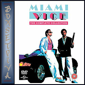 MIAMI VICE - THE COMPLETE COLLECTION - SEASONS 1 2 3 4 & 5 **BRAND NEW DVD*