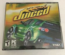 Juiced(PC CD ROM-2005)TESTED-RARE VINTAGE COLLECTIBLE-SHIPS N 24 HOURS