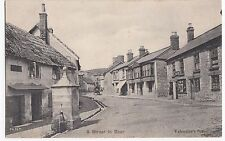 Devon; A Street in Beer PPC c 1905 Showing New Inn, By Valentines