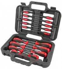 Heavy Duty 58pc pedacito de destornillador de precisión Ranurados Torx Phillips herramientas kit Set