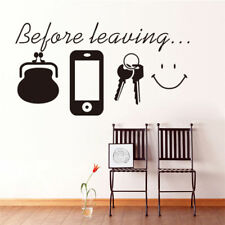 Fashion Letter Quote Removable Vinyl Decal Art Mural DIY Home Decor Wall Sticker
