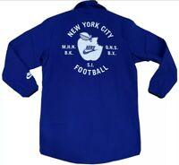Nike New York City Football Big Apple Jacket Blue Giants NFL AT6643-495 Size M